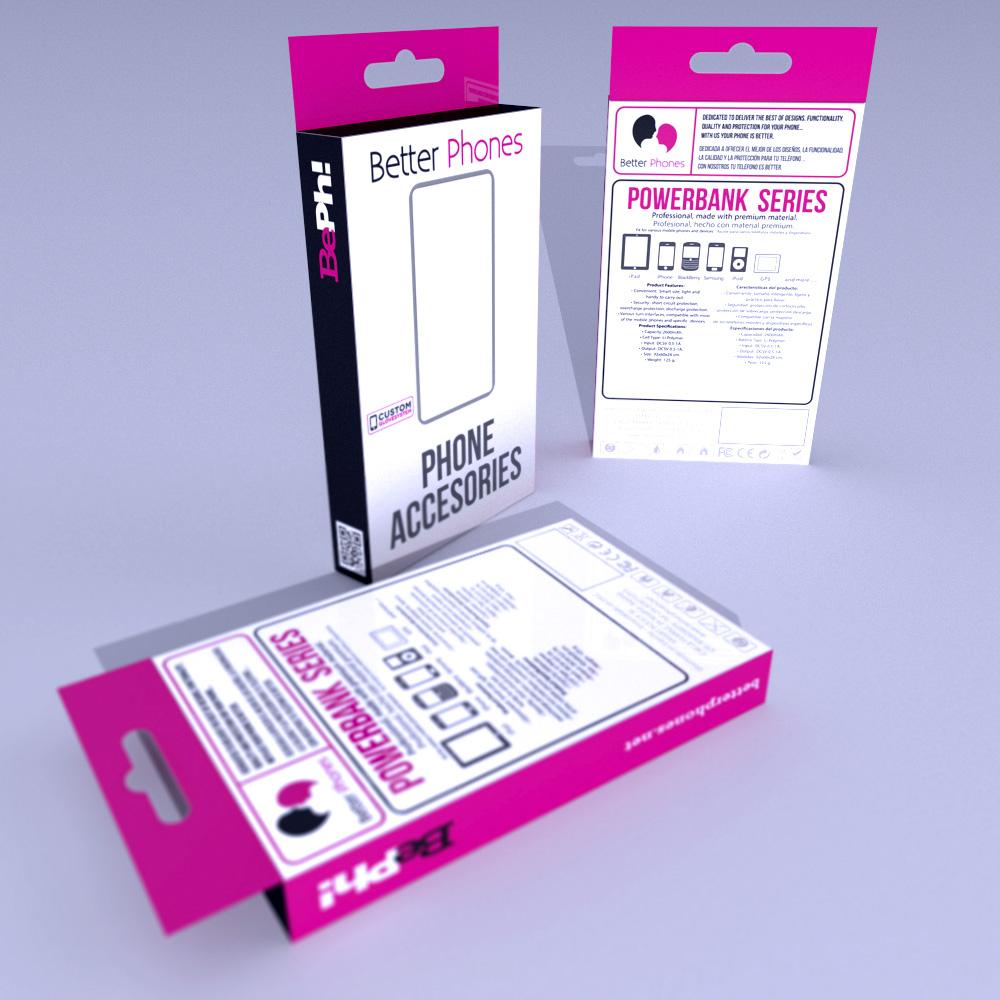 Better Phones packagin powerbank
