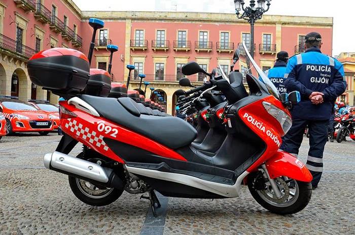 Motocicleta Gijon